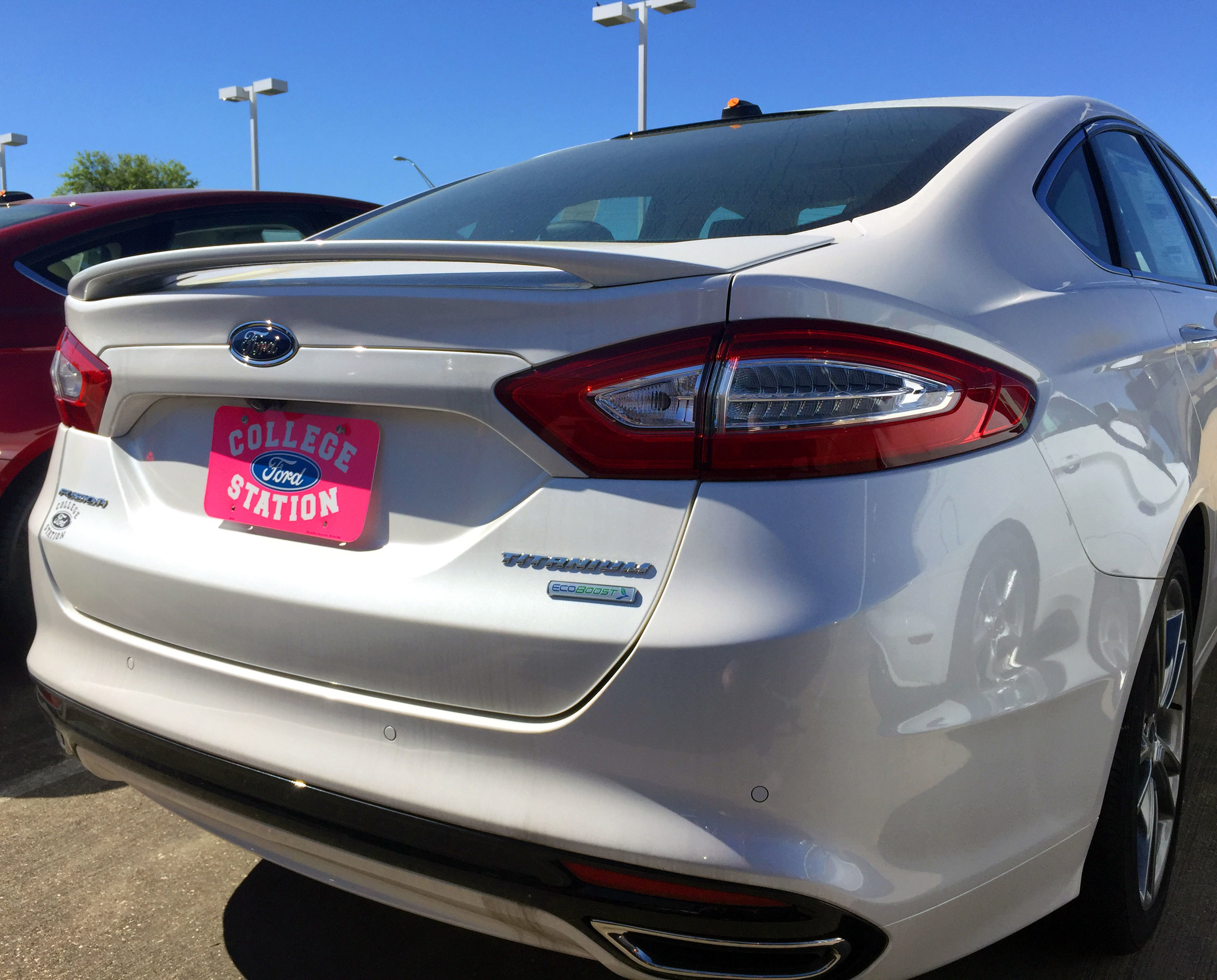 2013+ Ford Fusion Factory Style 2-Post Spoiler