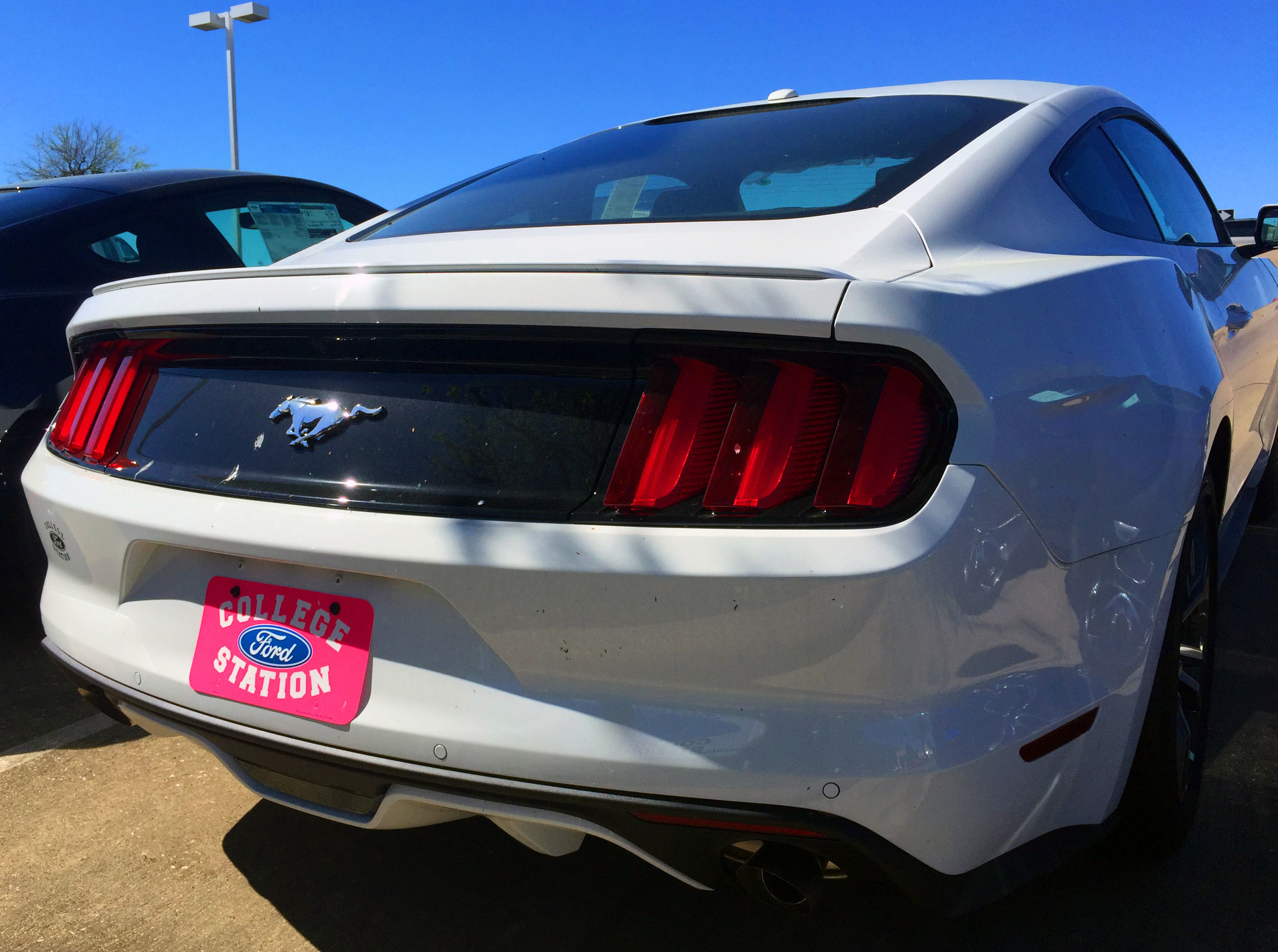 2015+ Ford Mustang Factory Style Flush Mount Spoiler