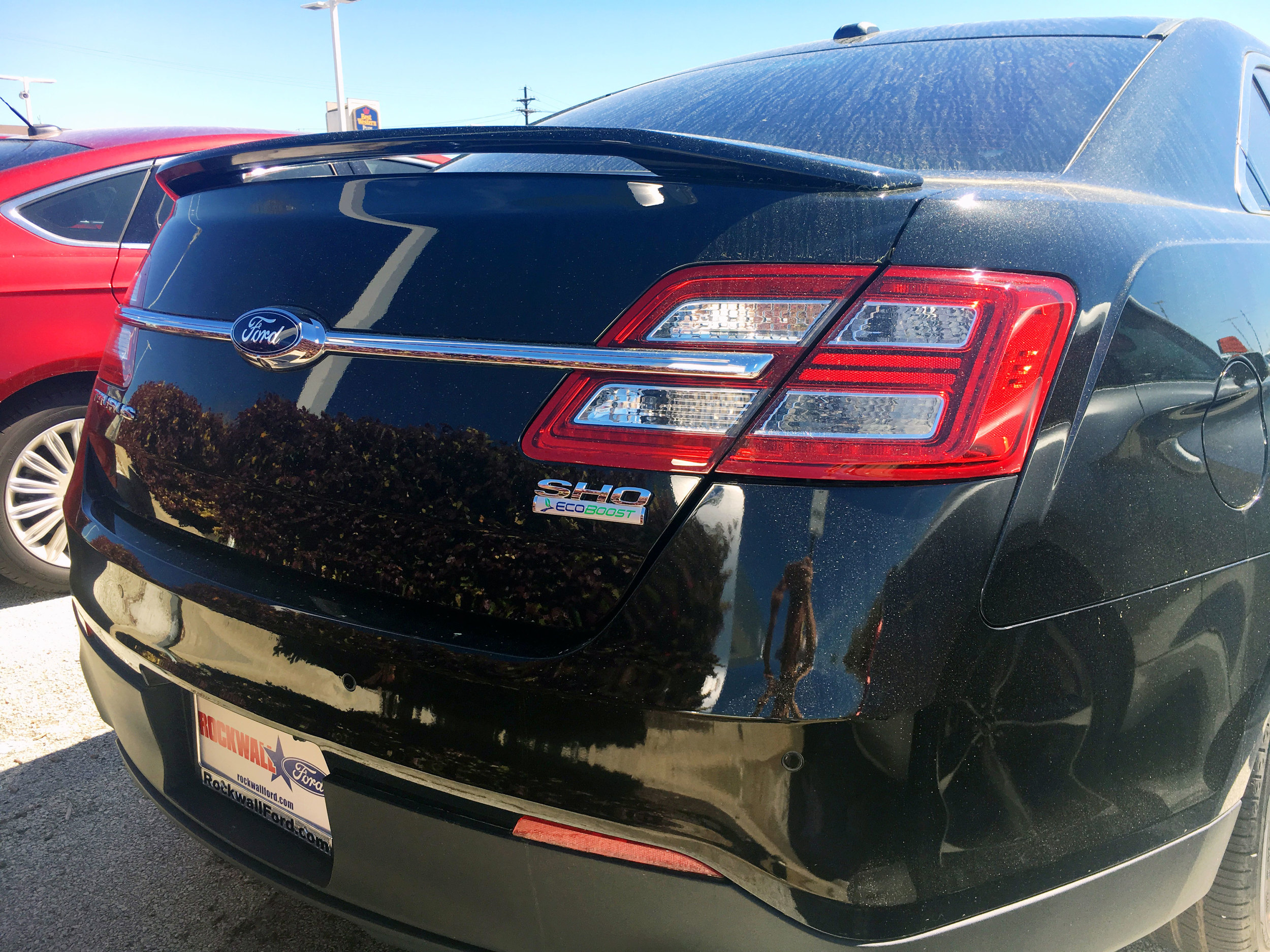 2010+ Ford Taurus Factory Style 2-Post Spoiler