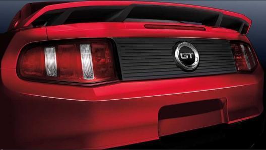 2010-2014 Ford Mustang 4-Post Spoiler