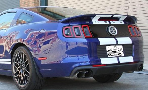 2010-2014 Ford Mustang Shelby Spoiler