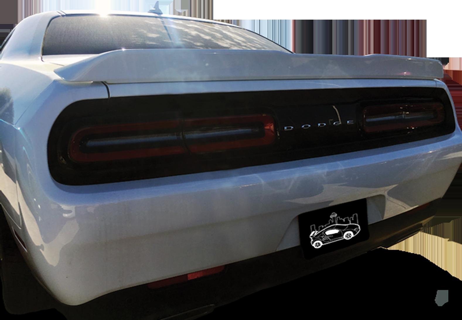 2015+ Dodge Challenger Custom SXT Plus (No Camera) Spoiler