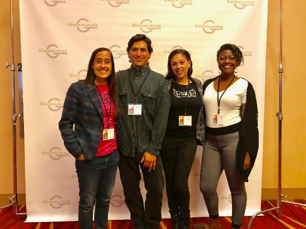 FoodWhat staff Kayla, Bruno, Irene and Moriah showing up strong at Greenlining Institute's 25th Annual Summit for Economic Justice in Oakland!