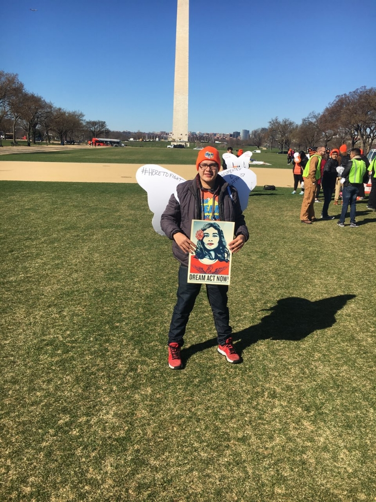"""FoodWhat Jr. Staff, Aurelio Vargas, traveled from Watsonville to Washington D.C last month to join the national youth-led movement,    United We Dream   , to protect DACA recipients and advocate for a clear path to citizenship for the millions of immigrants living in the U.S. Aurelio was part of the actions that happened in front of the White House in early March. Here are Aurelio's reflections:      """"The actions in D.C. brought out a lot of emotions. When we were chanting, It felt really powerful and healing to be out there. There are some things that are hard to think about at home, like the possibility of deportation and being separated from my family. When I was over there I saw how real that was for so many. We shared our stories with each other and built community. I felt liberated. It felt good to express my emotions and have them be part of something bigger.""""      (For more information about the Santa Cruz Dreamers Project, email     santacruzdreamers@gmail.com   )"""