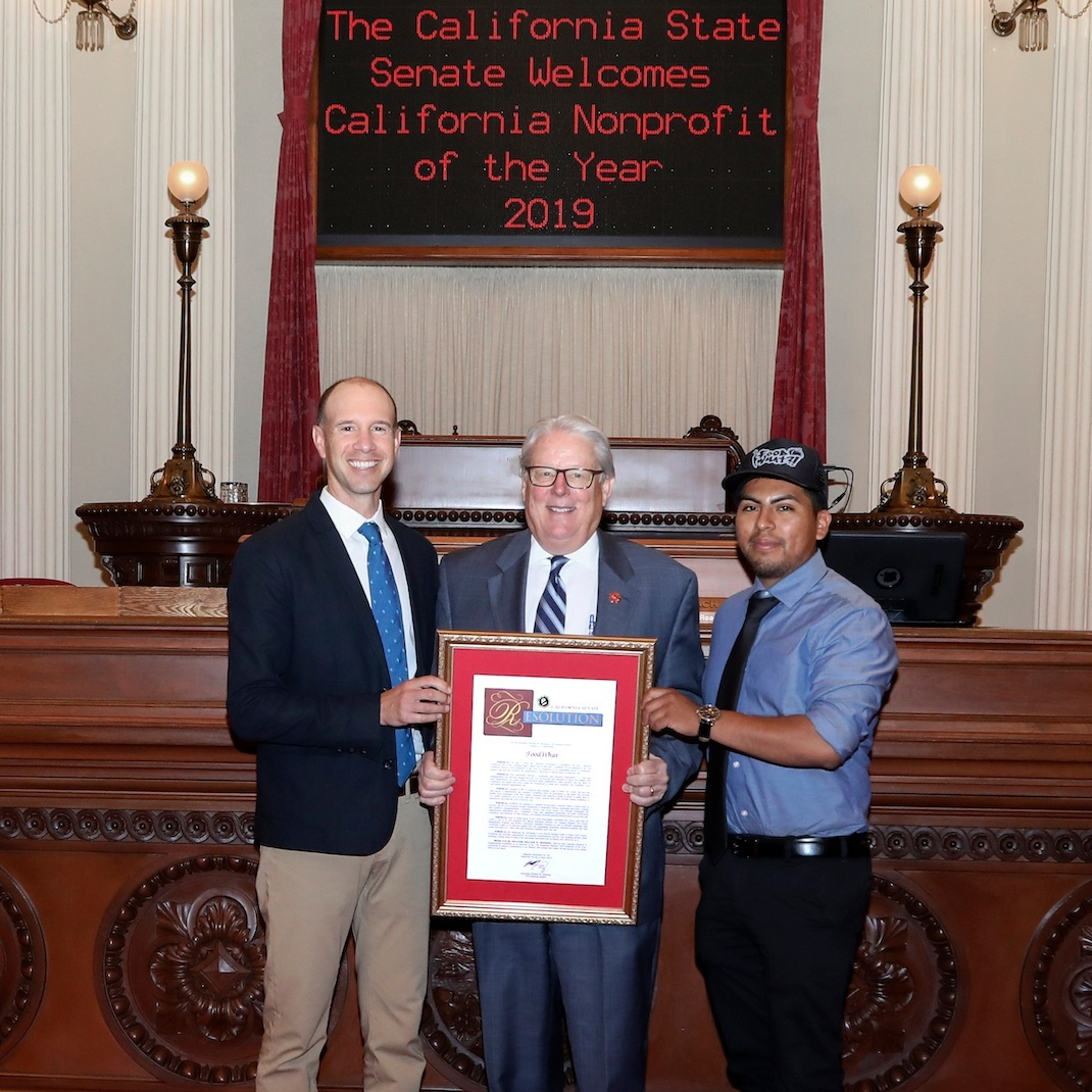 Senator Monning Names 'FoodWhat?!' as 17th Senate District Nonprofit of the Year - From: The Office of Senator Bill Monning