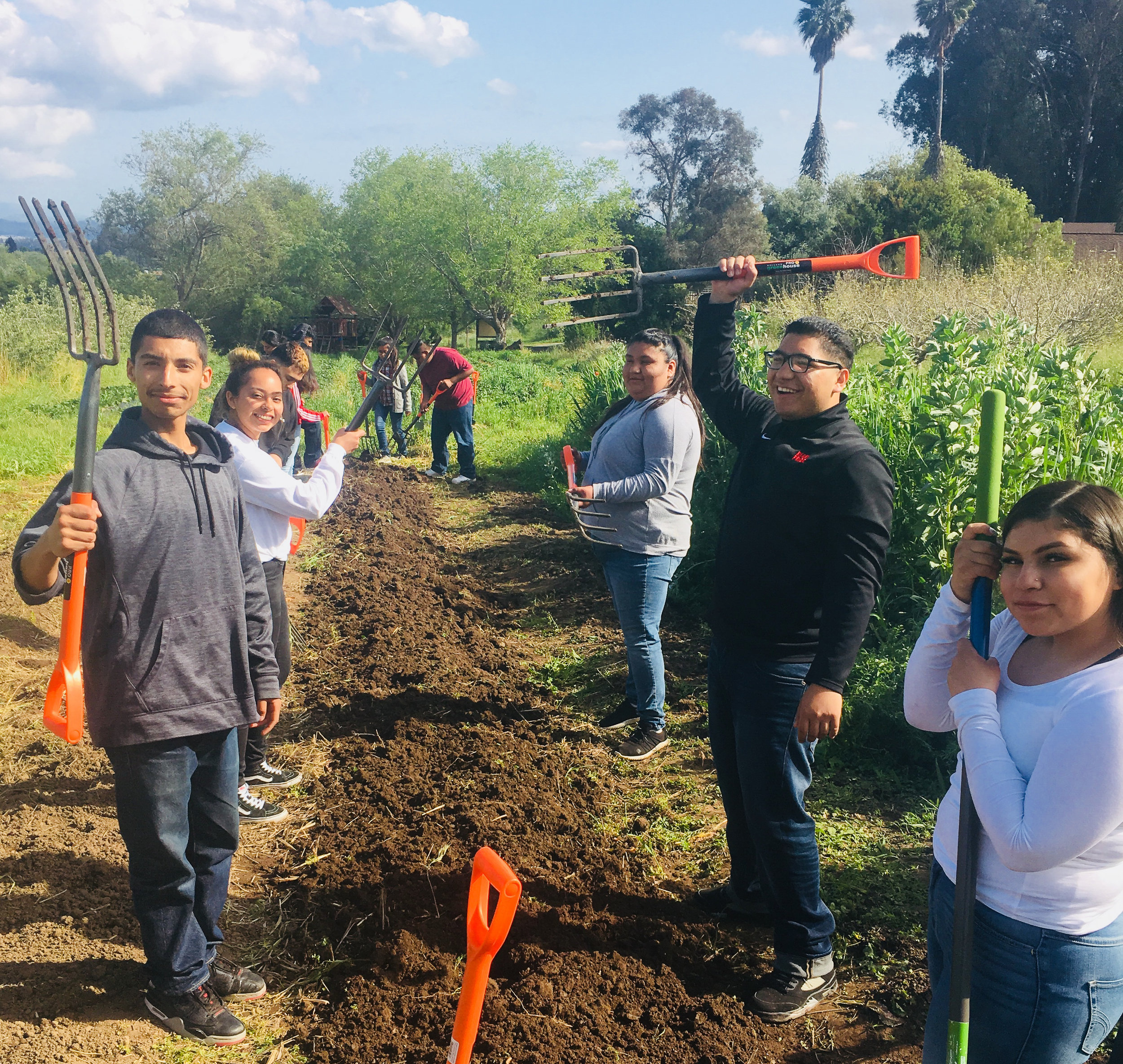 FoodWhat?! Youth Cultivate Community, Leadership, and Empowerment at Local Farms - By Kevin Heuer of Community Foundation of Santa Cruz County