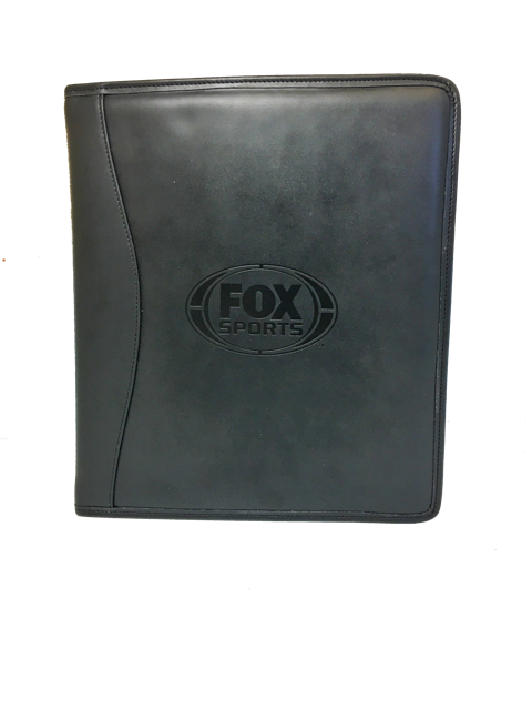 Fox Sports 3 ring binder by Henderson Leather