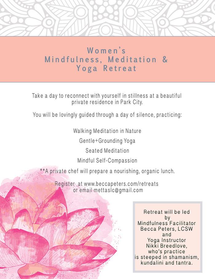 women's meditation retreat utah
