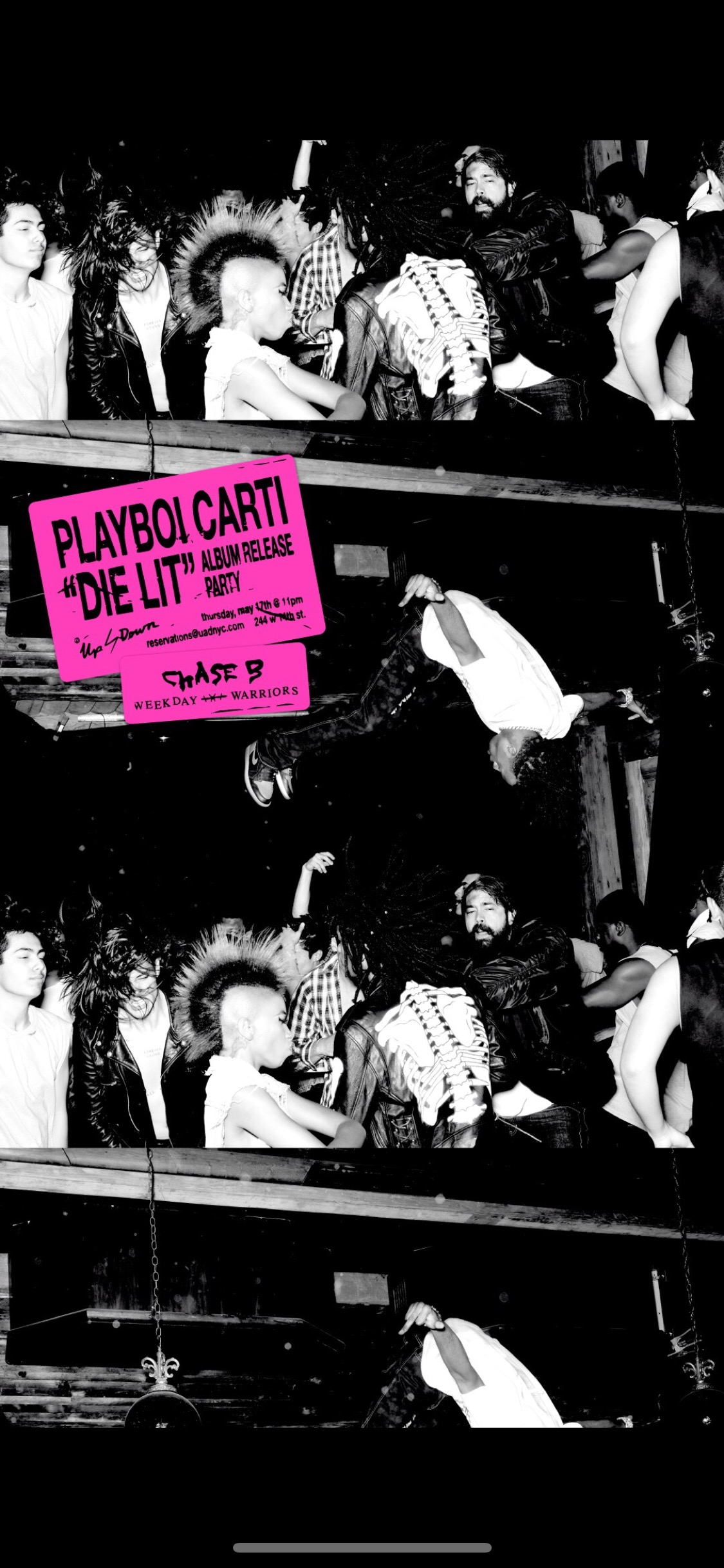 Playboi Carti Album Release Party at Up & Down — Vanity Events