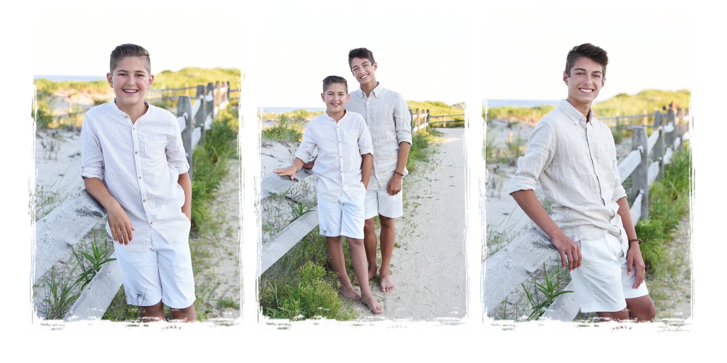 Triptic Custom Designed - 3 Images / Size: 10 x 20 in (Available for Print or Canvas)