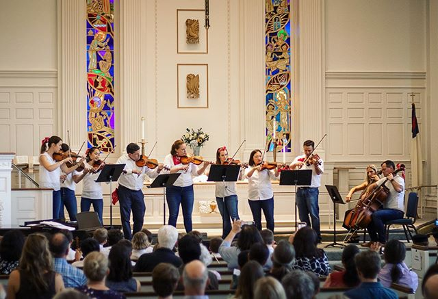 Our parent orchestra gave a fantastic performance at this years playdown! It is always so fun to see them on the other side of the suzuki triangle! #ridgefieldct #suzukimethod #suzukiparents #violin #viola #cello #music #EveryChildCan