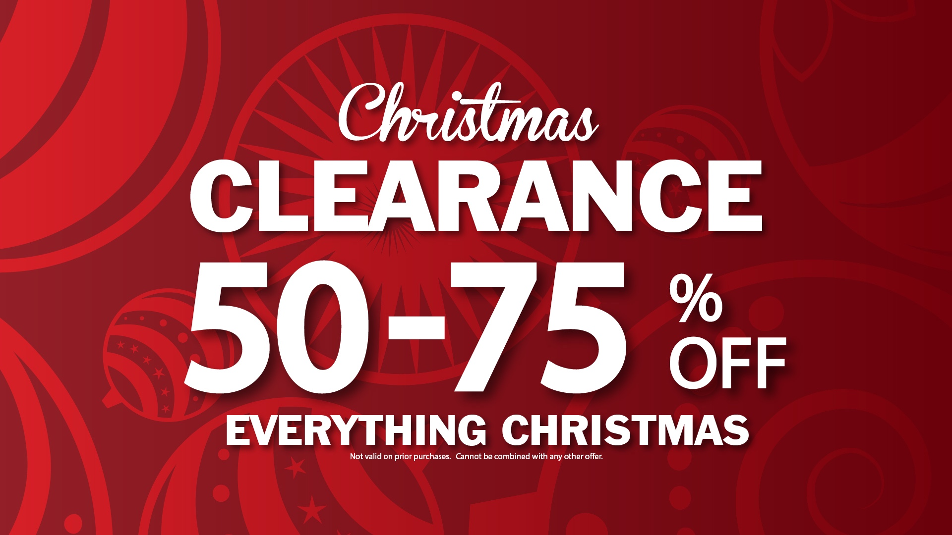 Christmas Clearance 75 Off.Christmas Clearance Save 50 75 Off Everything Christmas