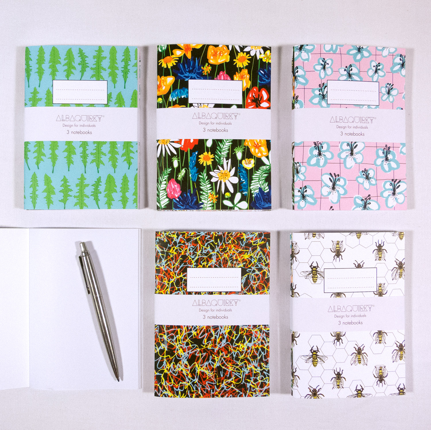 Stationery - Notebooks and greetings cards