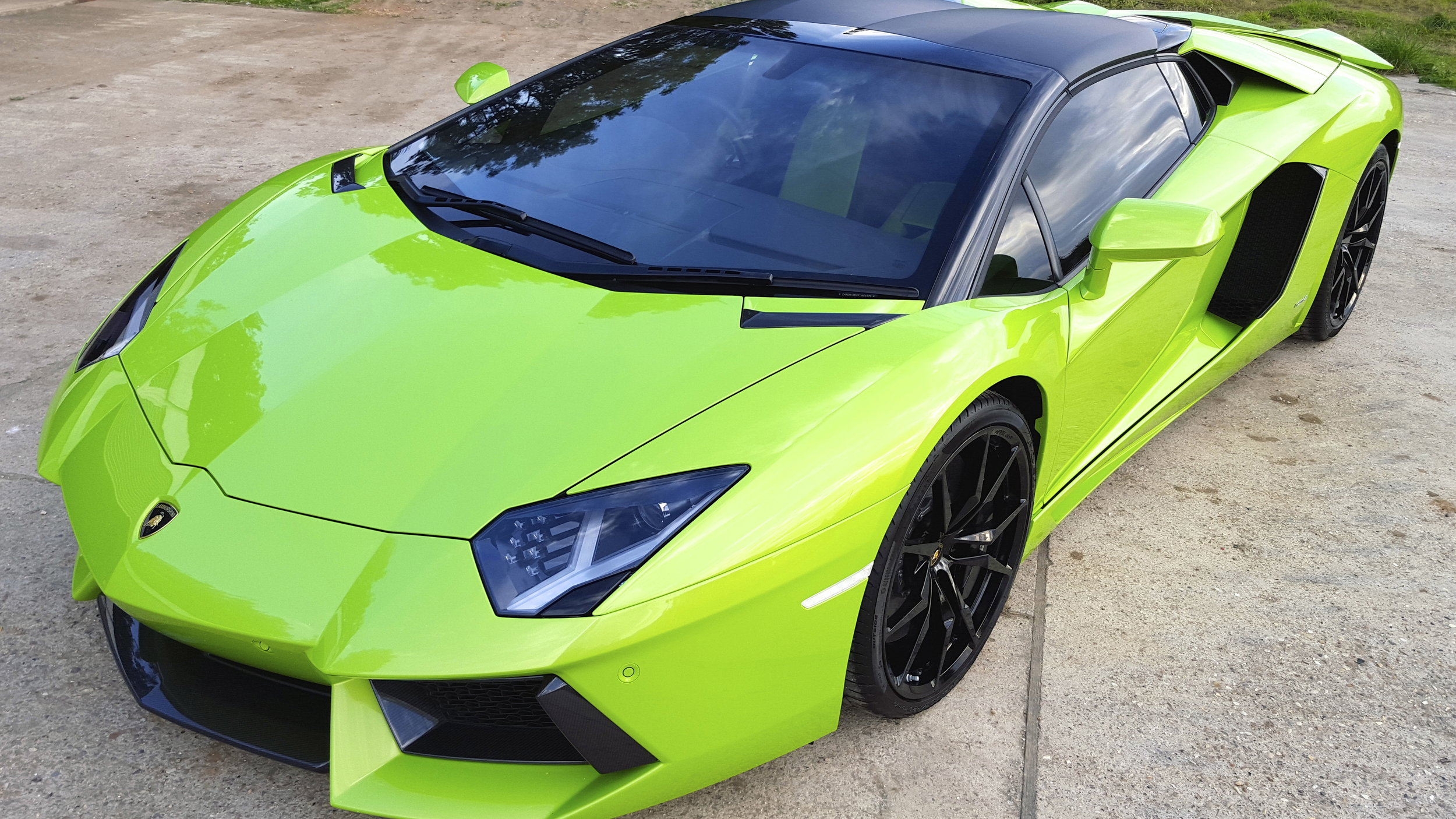 Copy of Lamborghini Aventador PPF Paint Protection Film