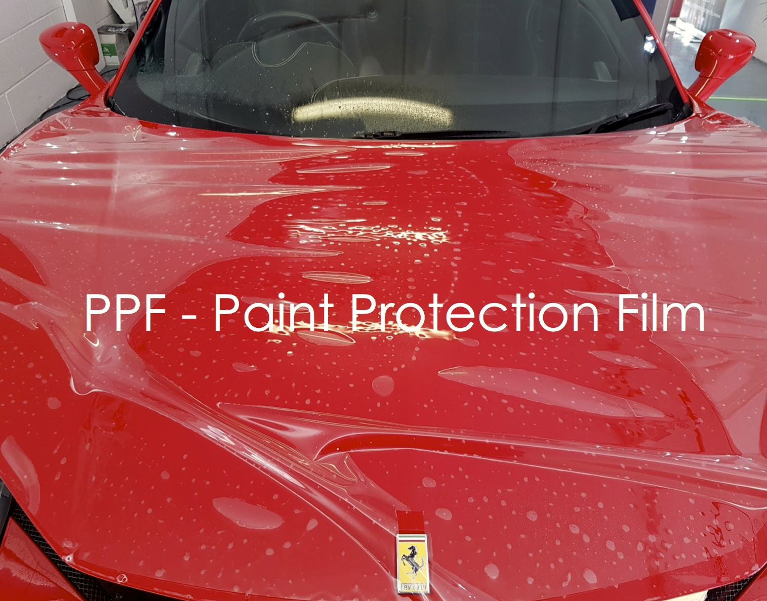 Copy of Ferrari 458 PPF Paint Protection Film