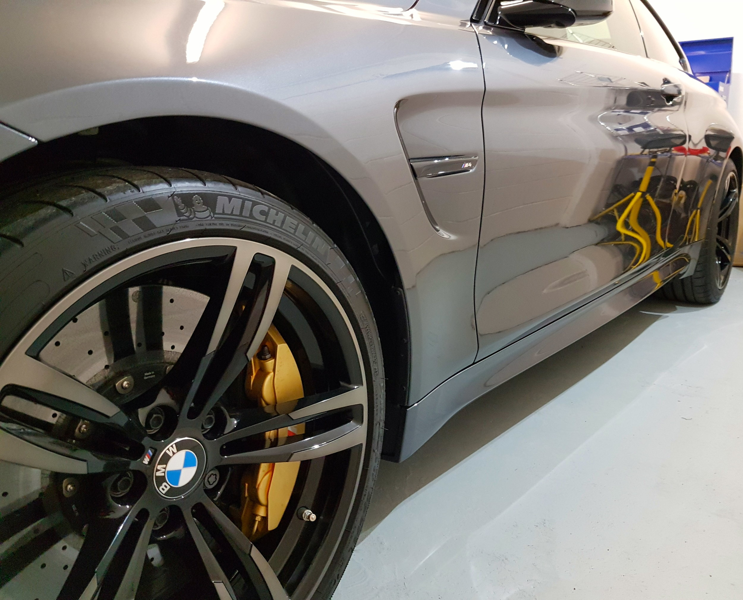 Copy of BMW M4 PPF Paint Protection Film
