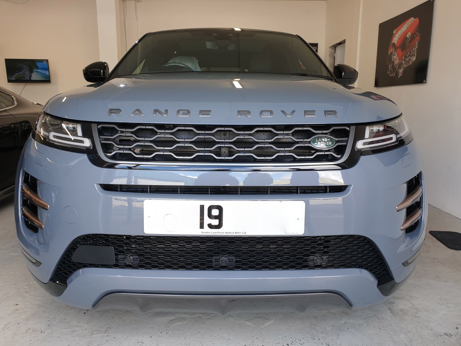 2019 Evoque first edition