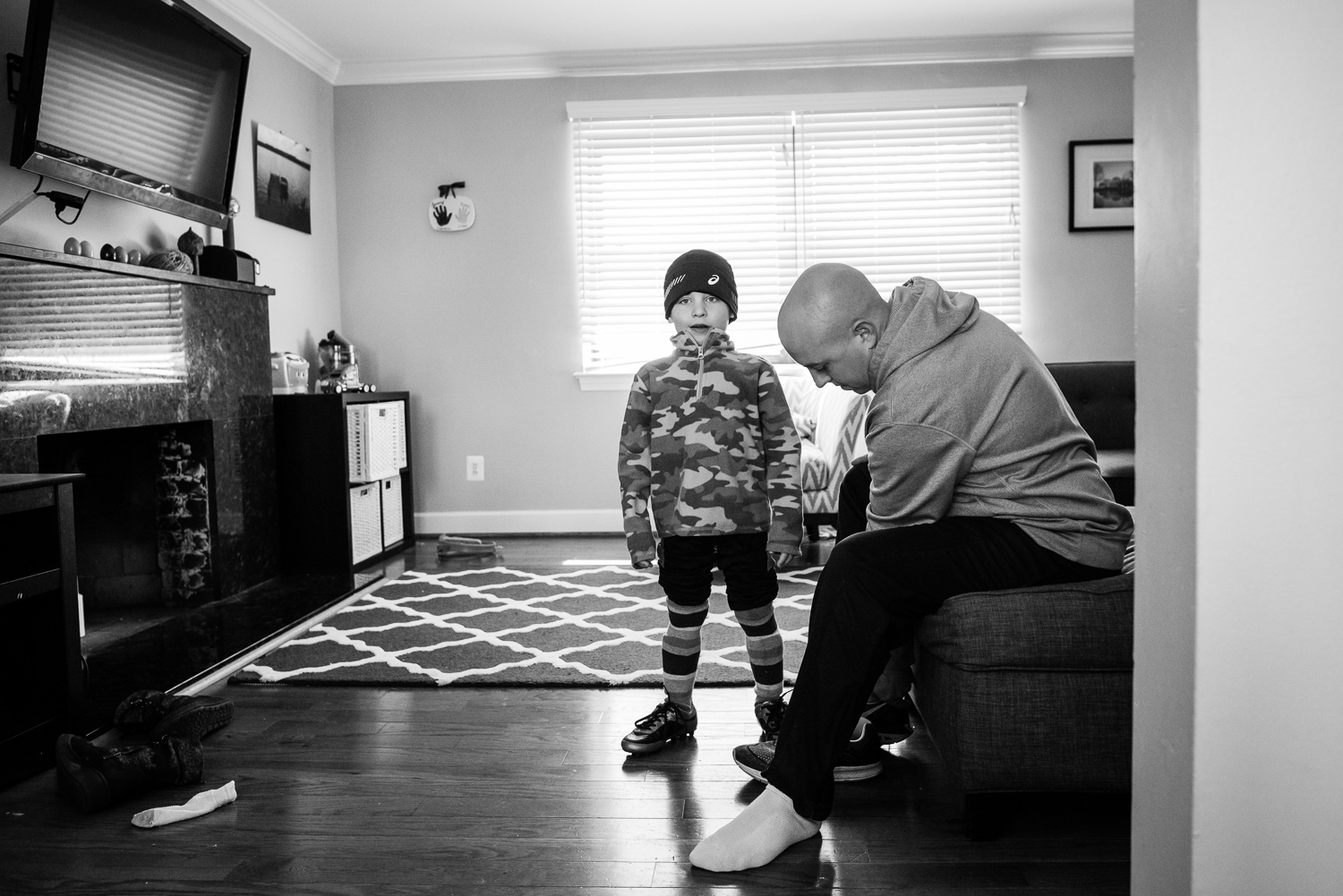 father son soccer, family documentary and lifestyle photography