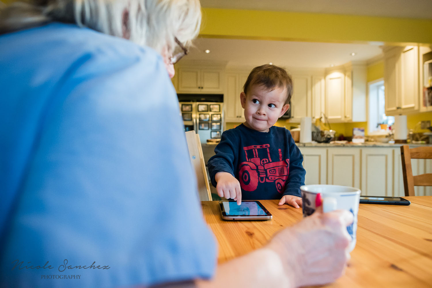 Northern Virginia in home family documentary photography