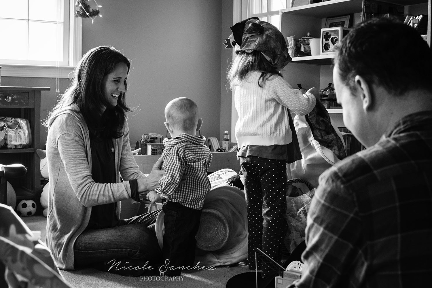 Documenting a quiet family moment