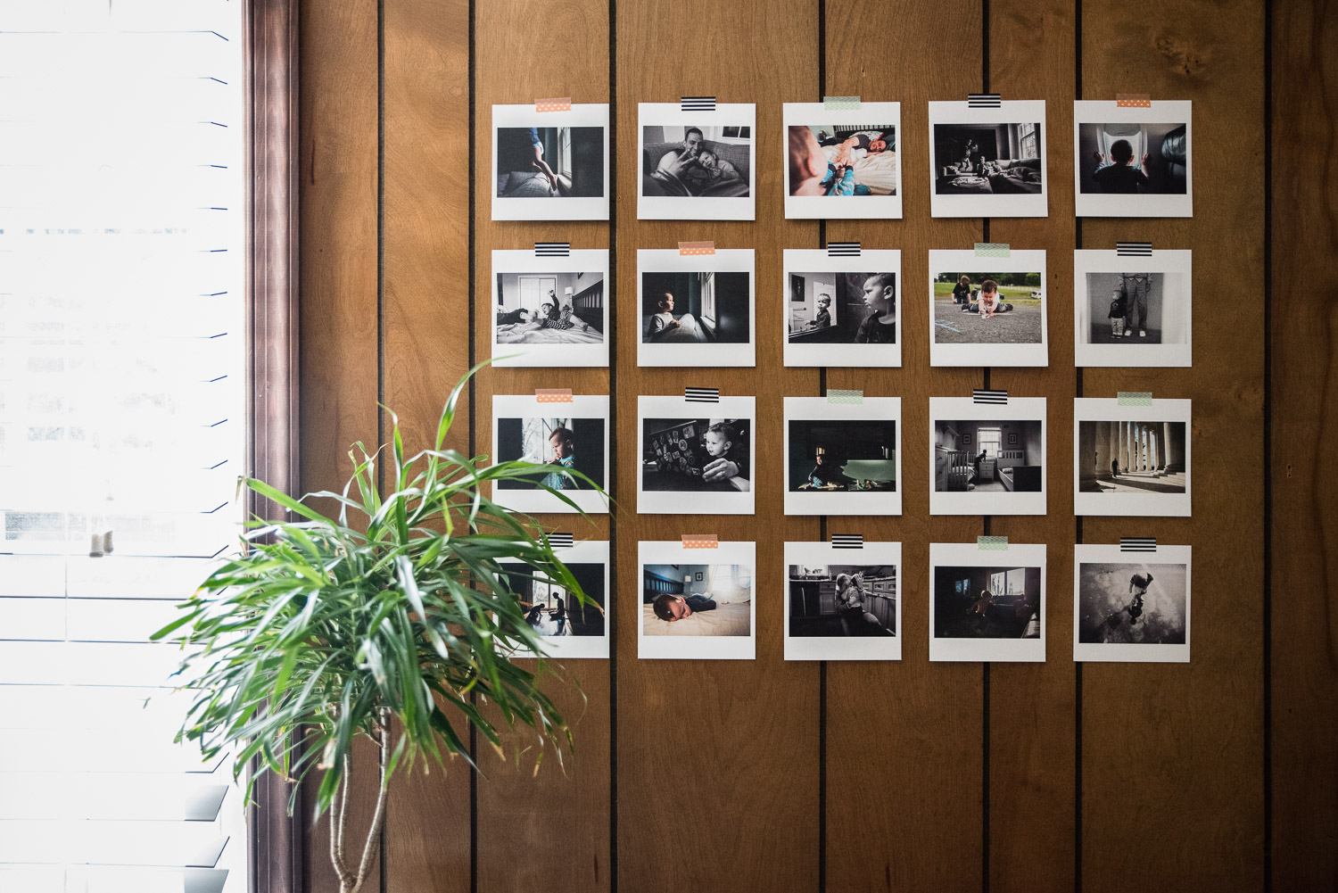 Print Your Photos Wall Grid   Northern Virginia Lifestyle Family Photographer