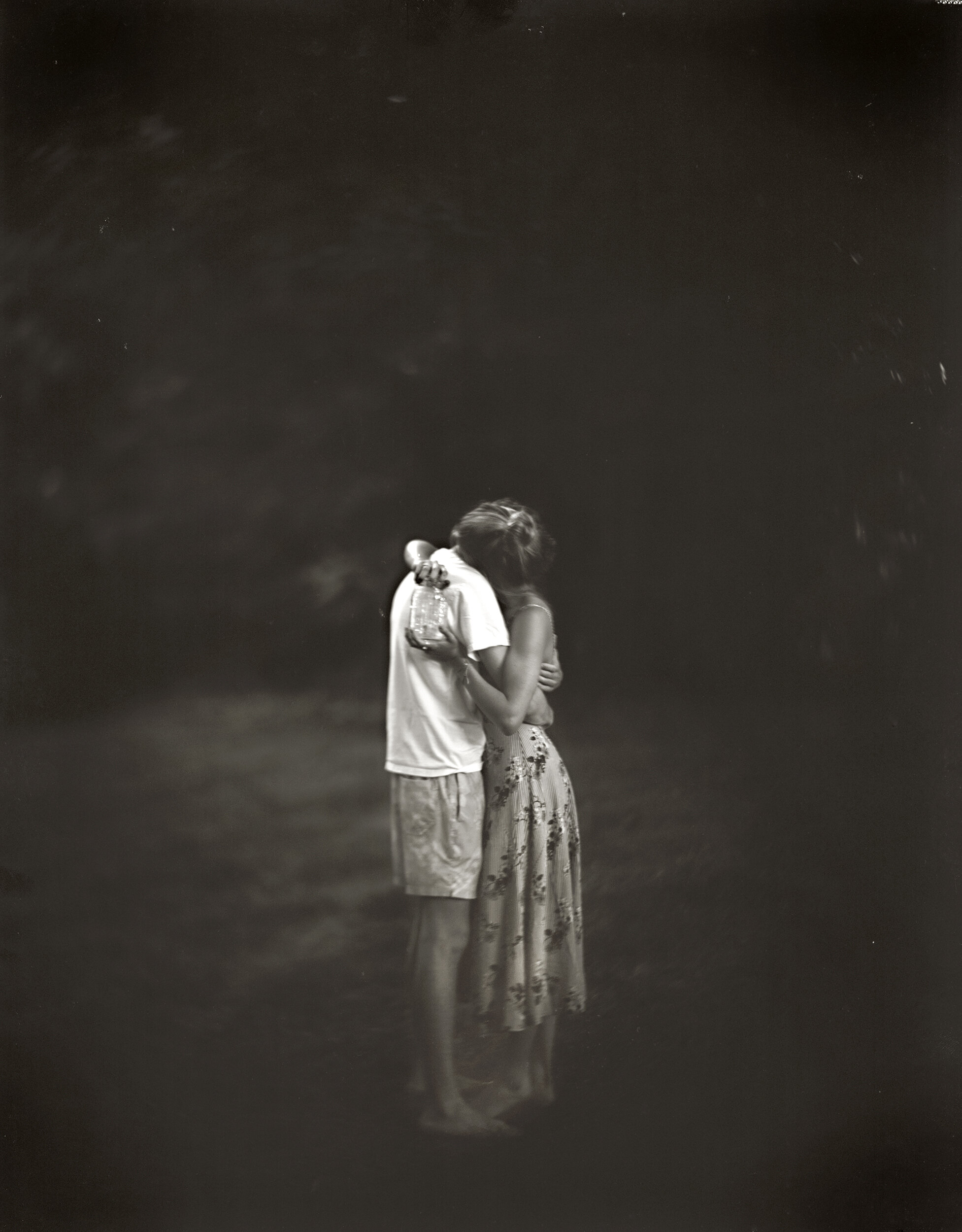 MOONLIGHT, FIREFLIES AND YOUNG LOVE, 2017  In honor of Keith Carter