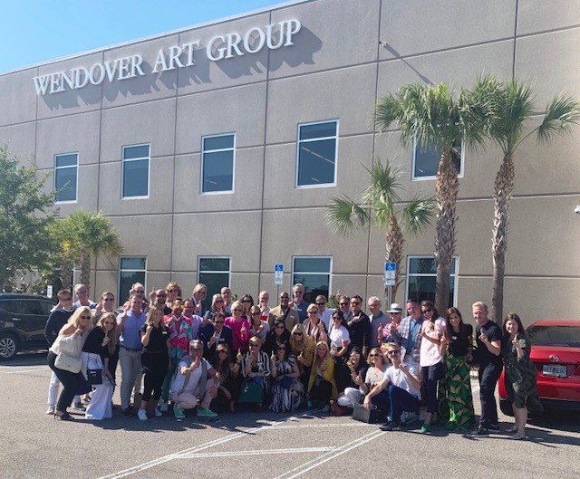All of the amazing designers that attended the Wendover Art Group Summit!