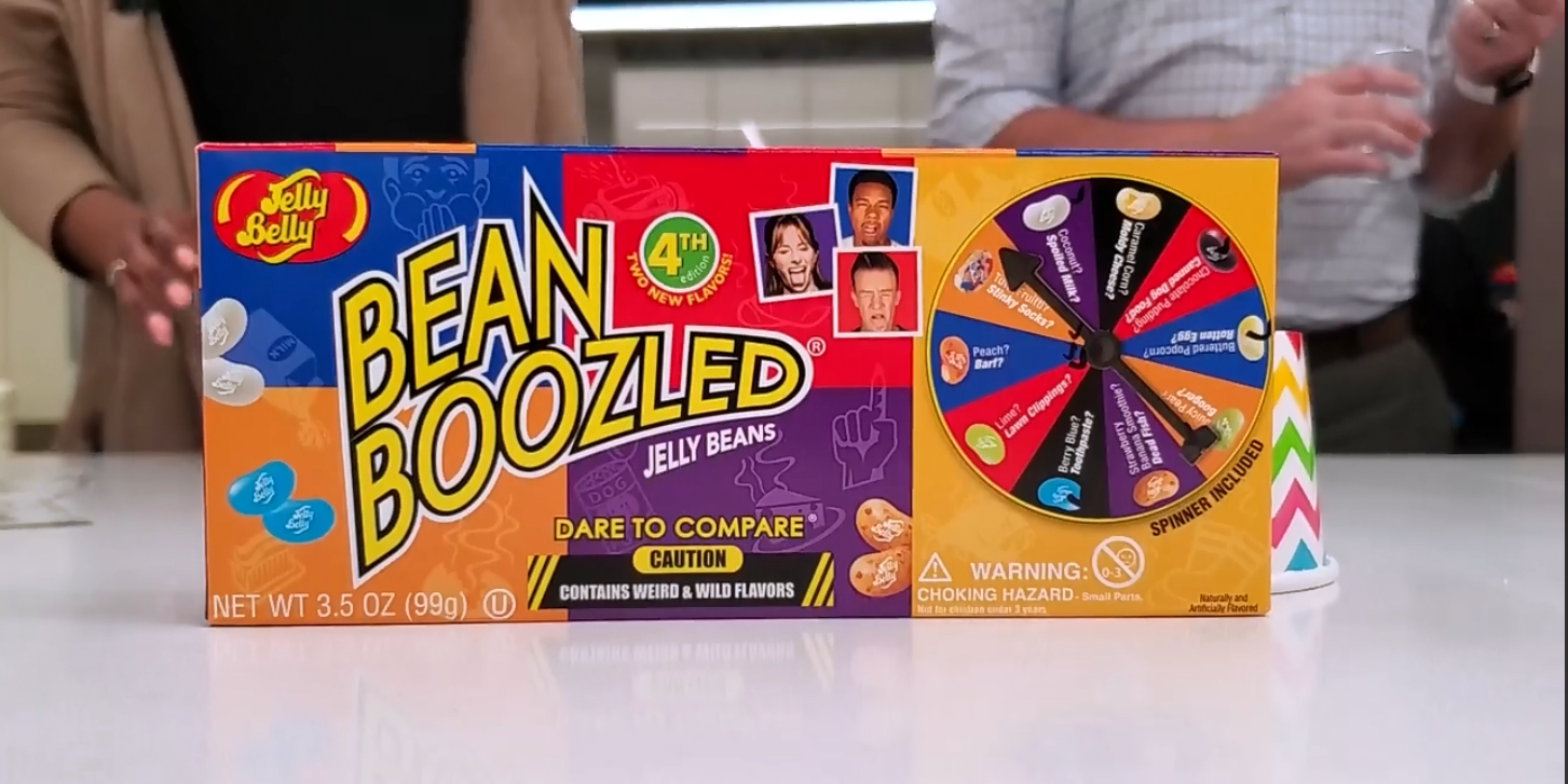 Bean Boozled: the game of trickery!