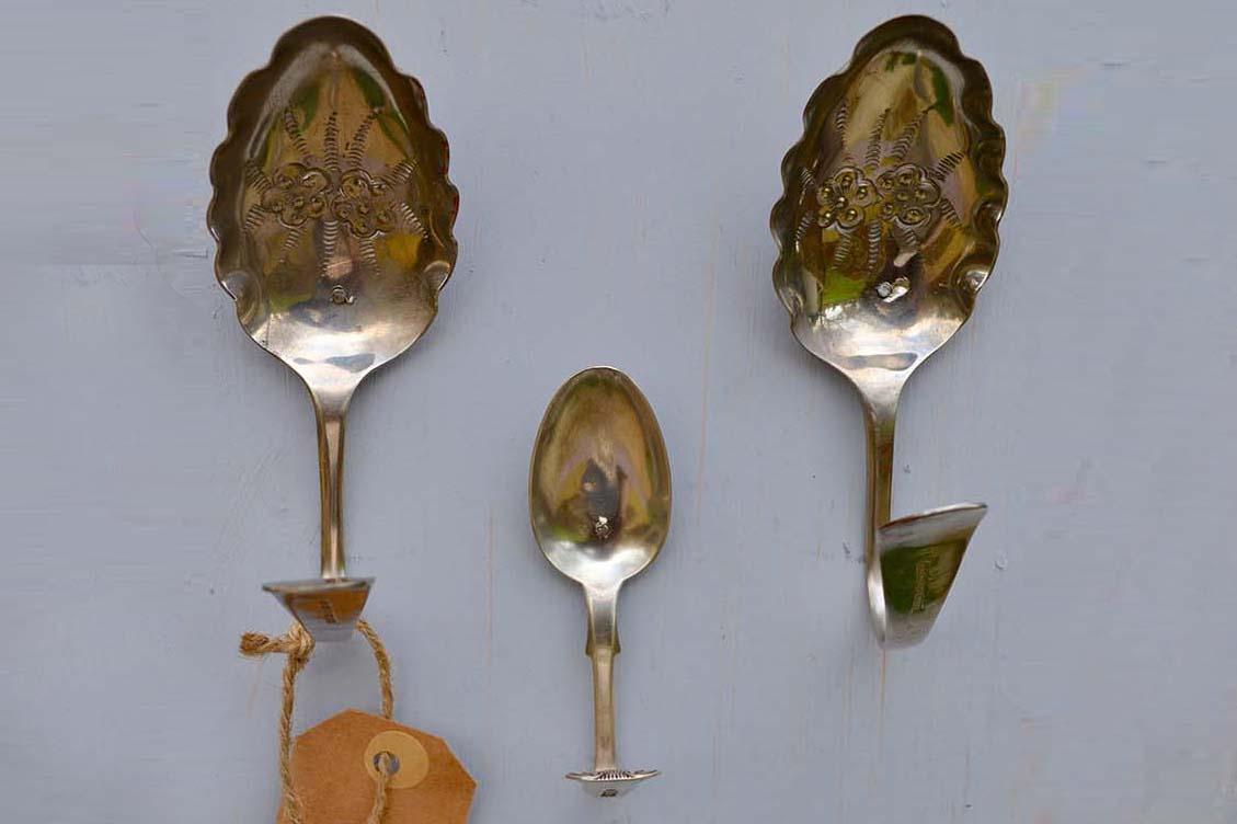 Make a set of spoon hooks