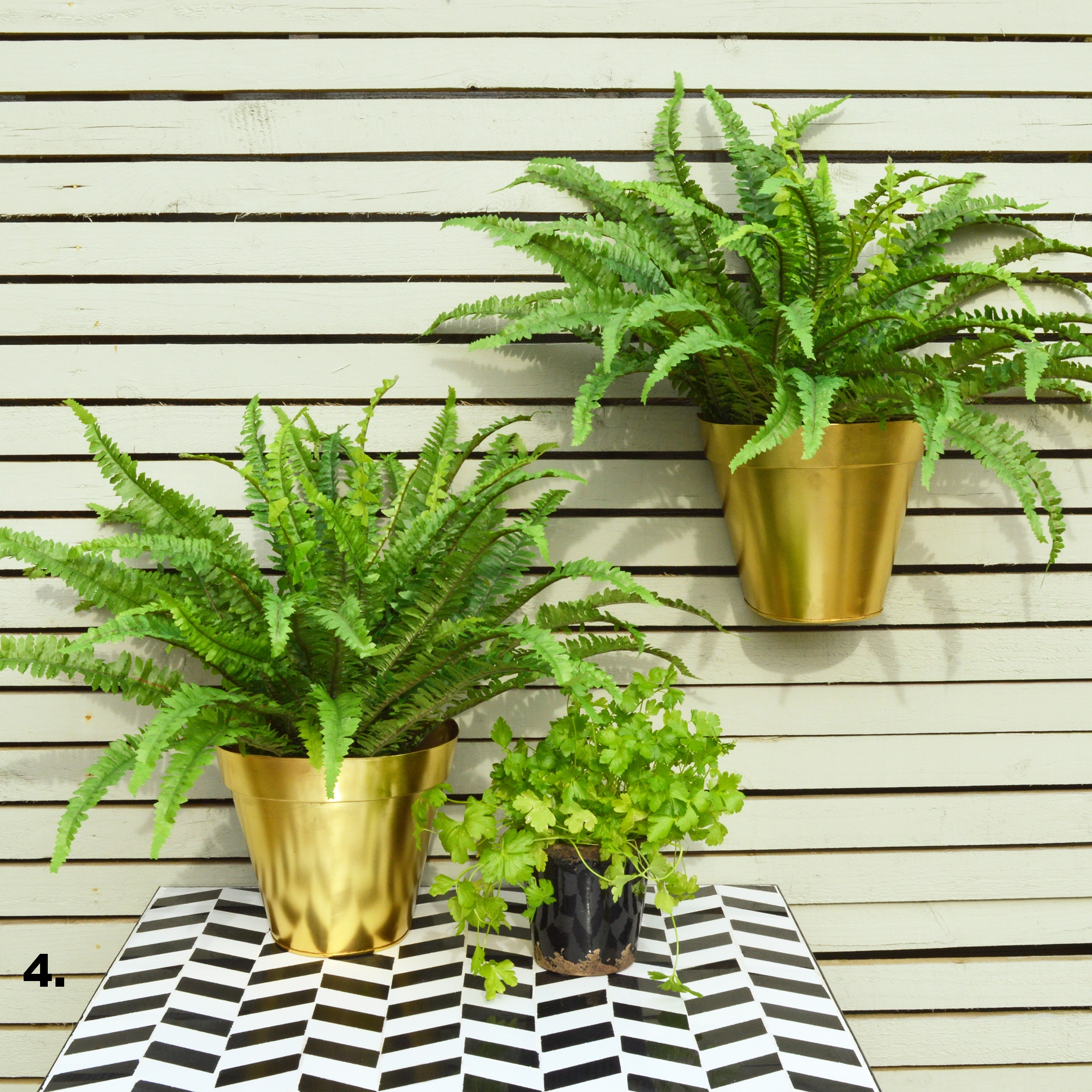 MiaFleur- Gold Wall Planter £16.95.jpg