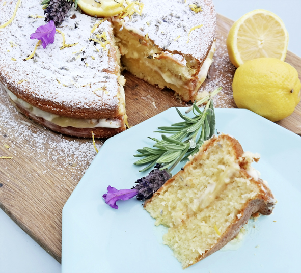 A delicious summer treat perfect for afternoon tea!