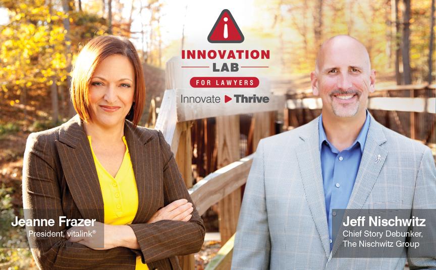Jeanne Frazer and Jeff Nischwitz - Innovation Lab for Lawyers