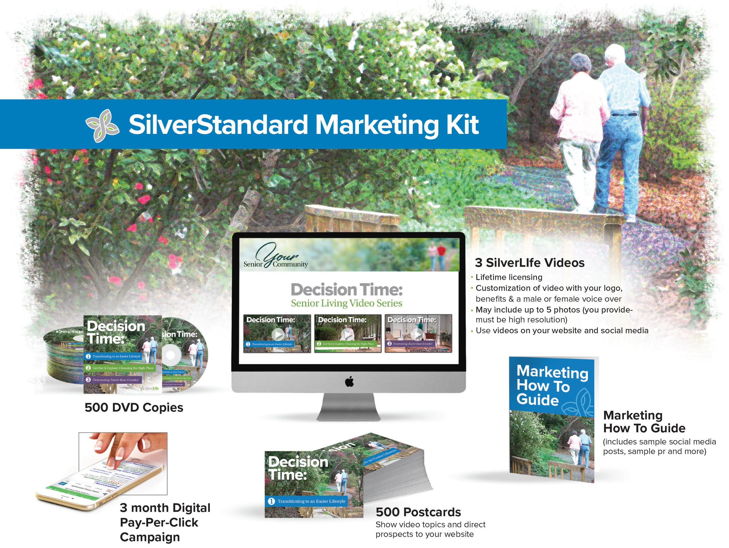 Silver Standard Marketing Kit