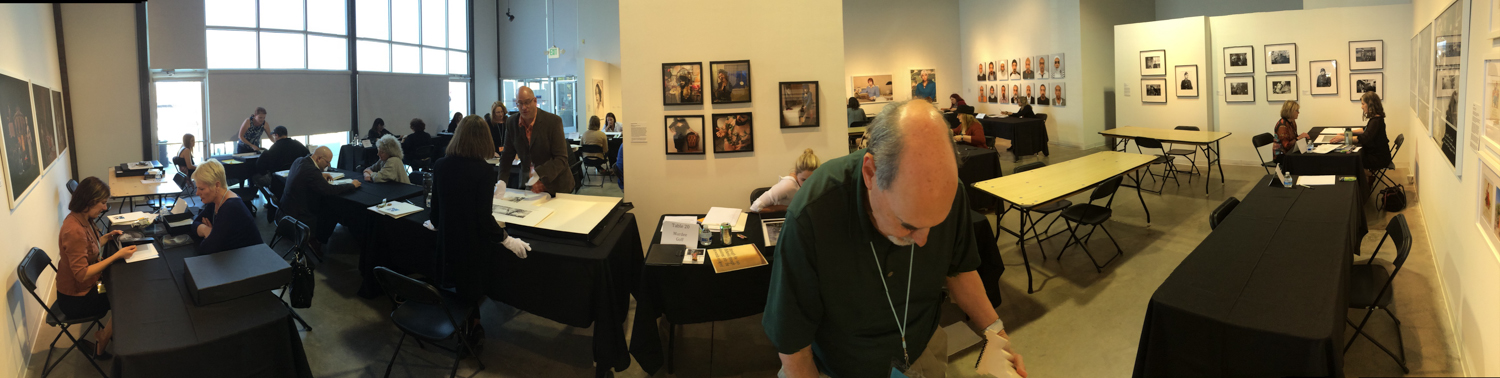 Portfolio review weekend at Redline Denver, April 2015