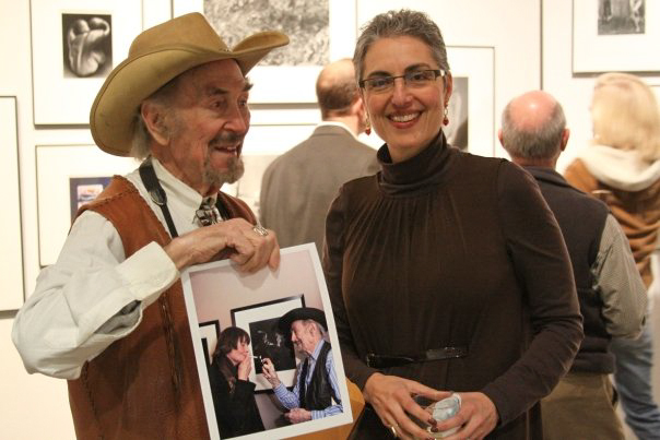 Hal Gould with Laura Merage