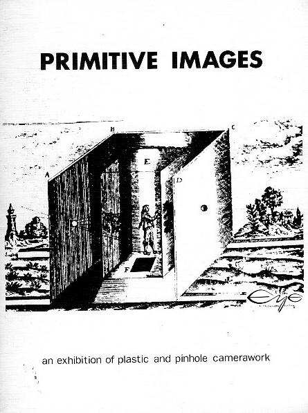 For Eye Gallery, 1983. Curator, editor