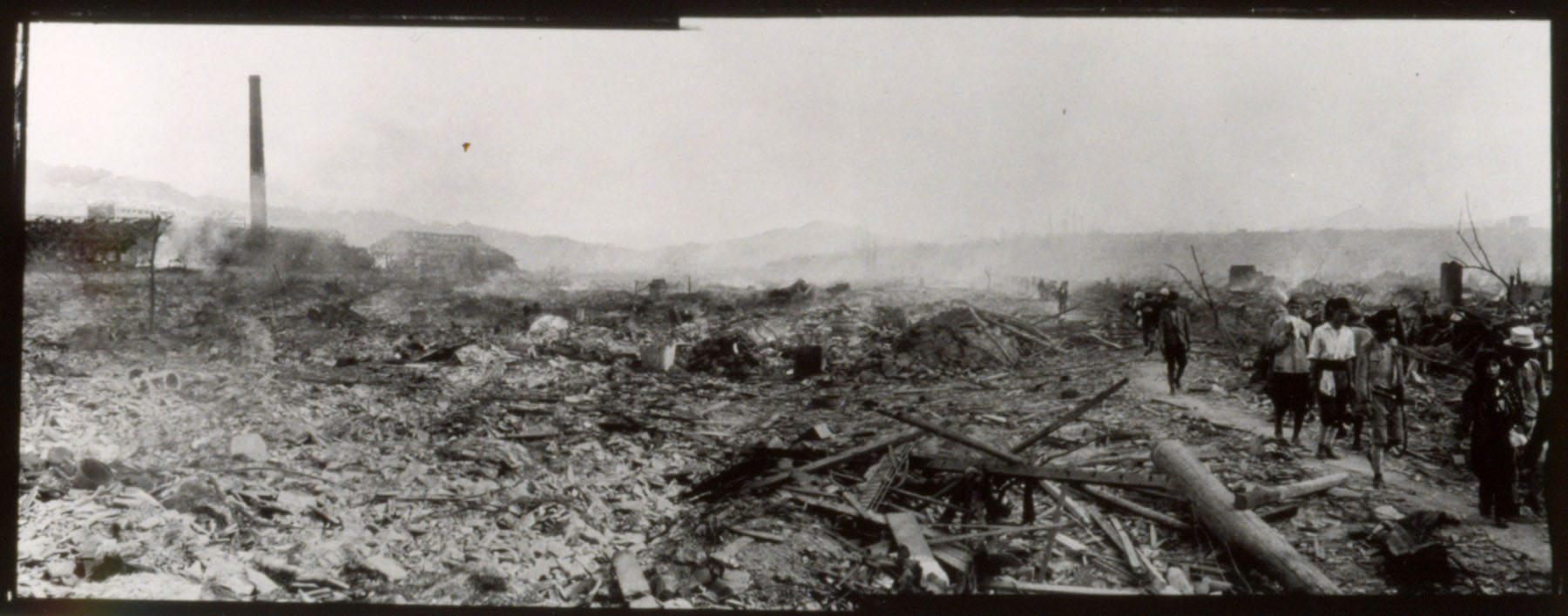 August 10, 1945. Nagasaki Panorama