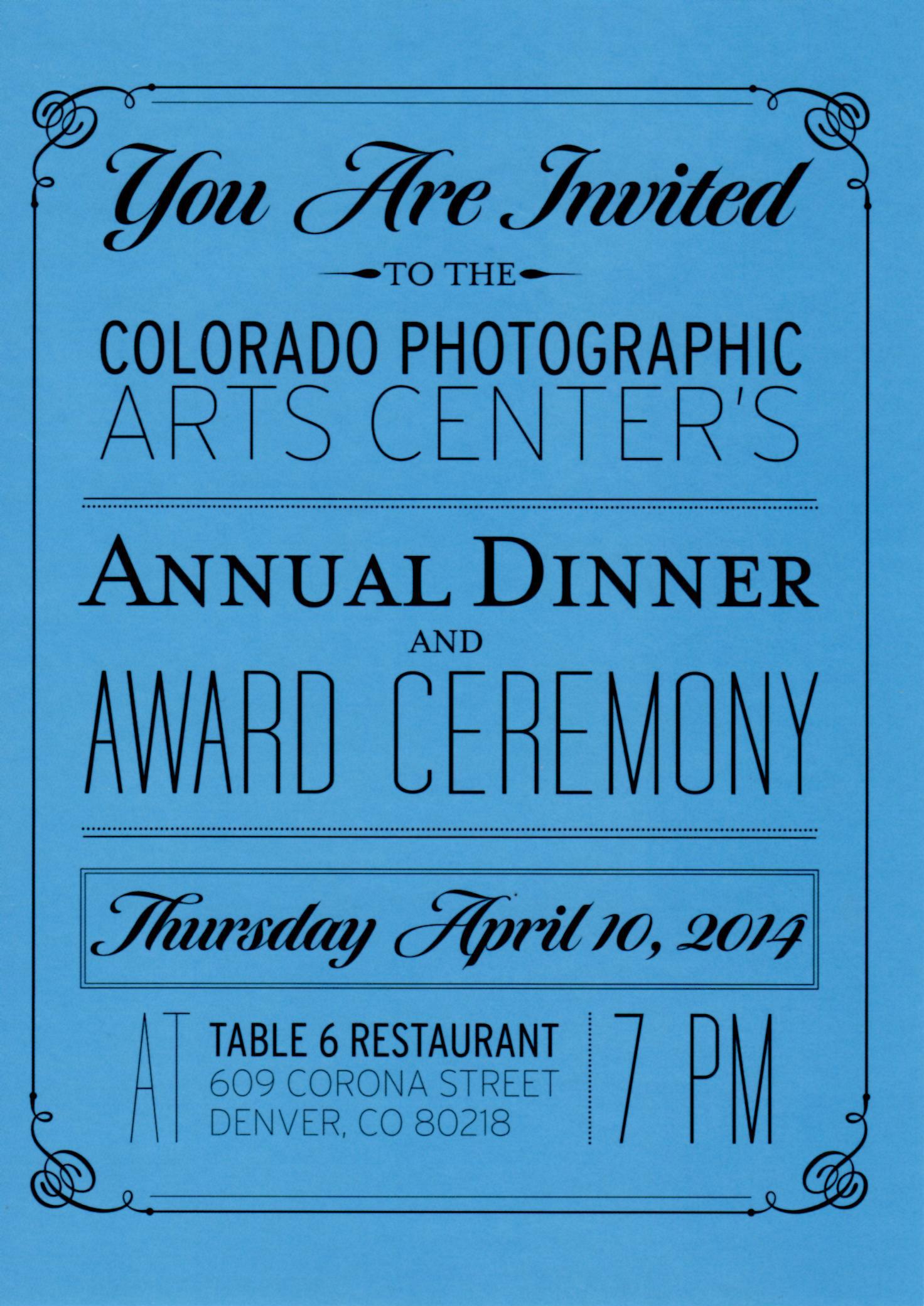 CPAC, 2012-15. Annual Fundraising dinner