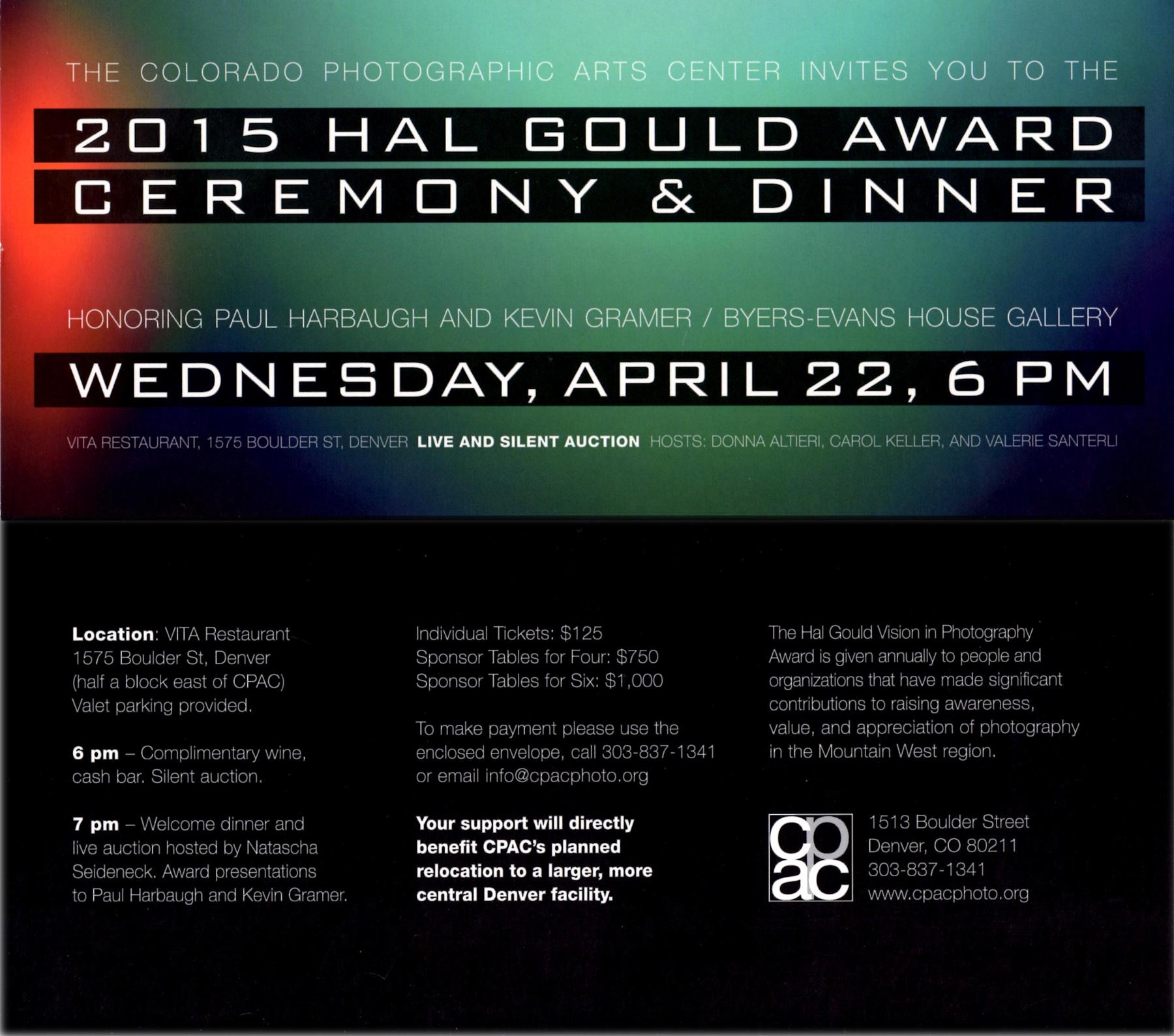 CPAC 2012-15. Annual fundraising dinner