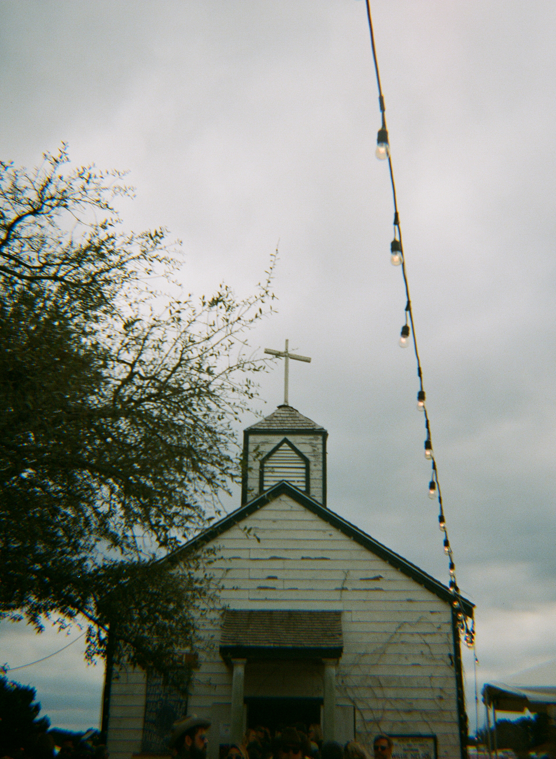 chapel at Willie Nelson's ranch
