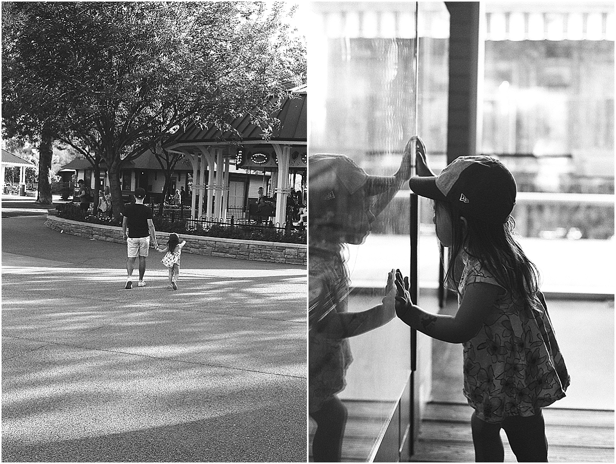 Ilford HP5 and Olympus OM1, toddler waiting to get into the train park