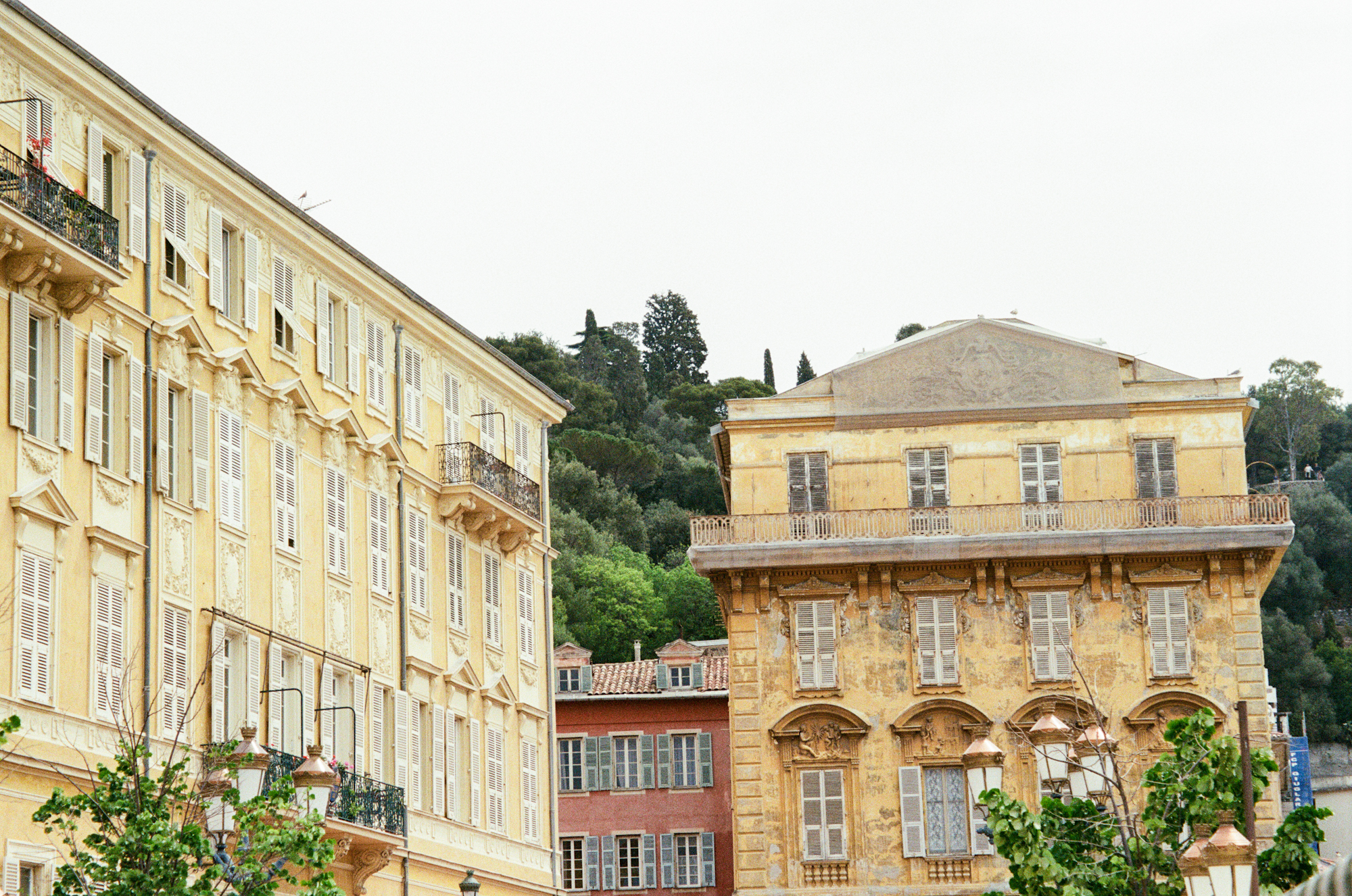 photo of old town Nice, France