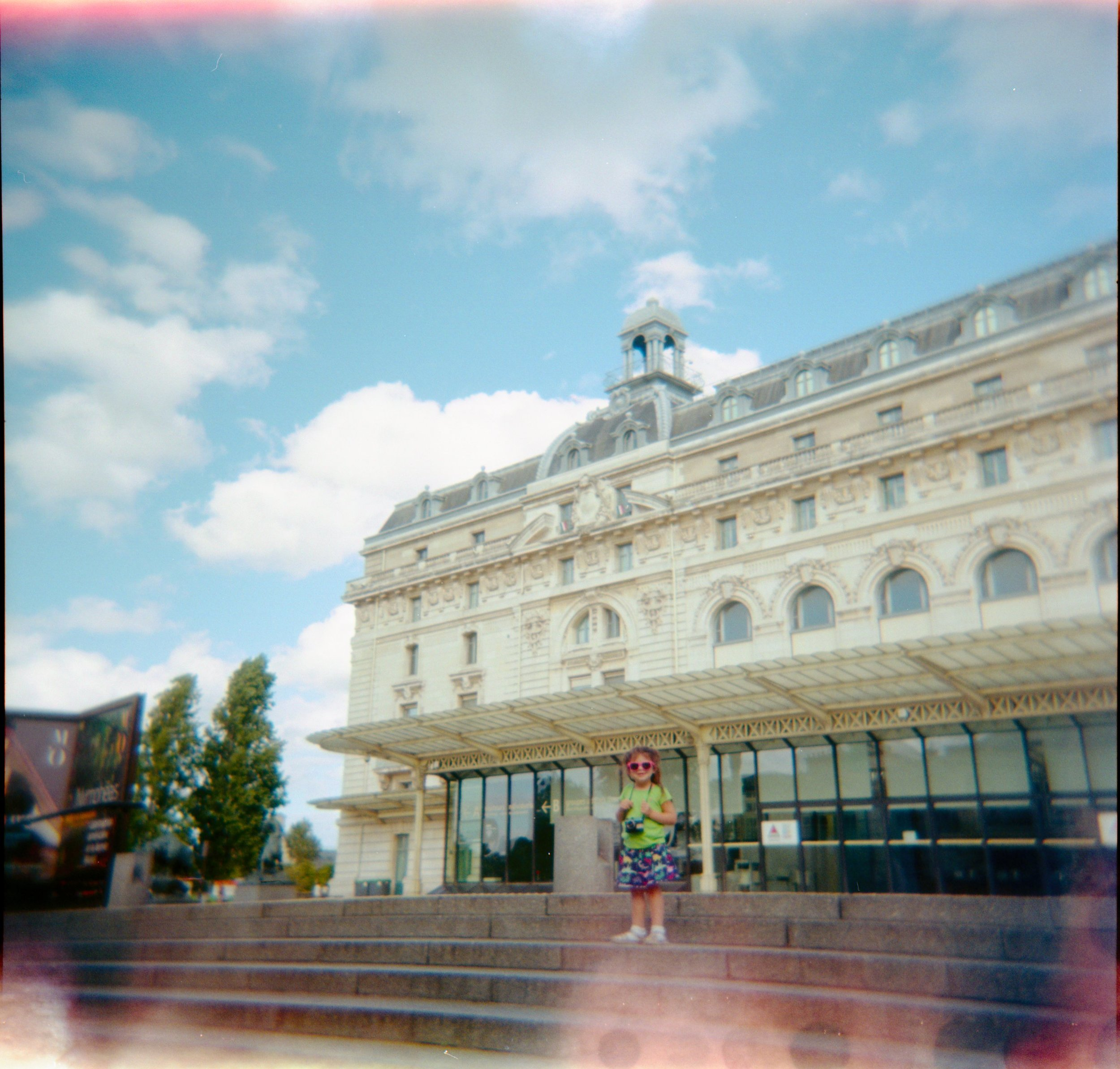 Holga photo of Museum Orsay