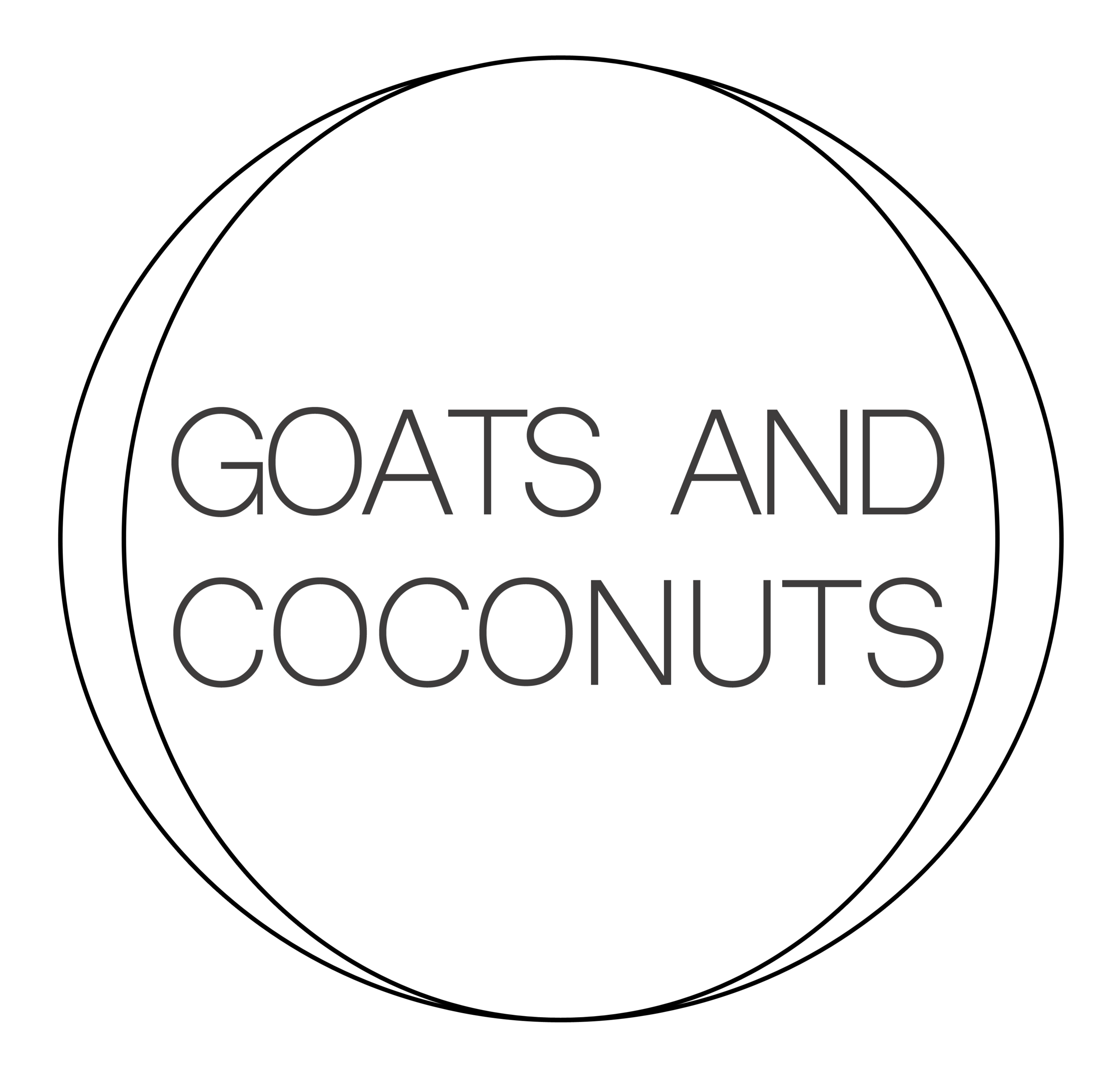 Goats and Coconuts