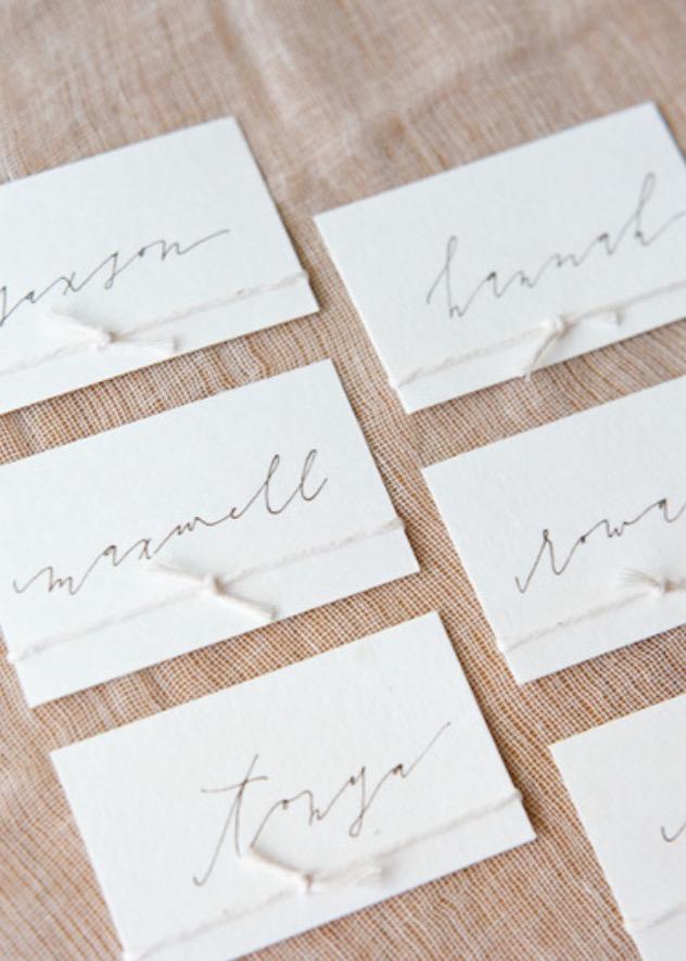 minimalist escort card banks & leaf.jpeg