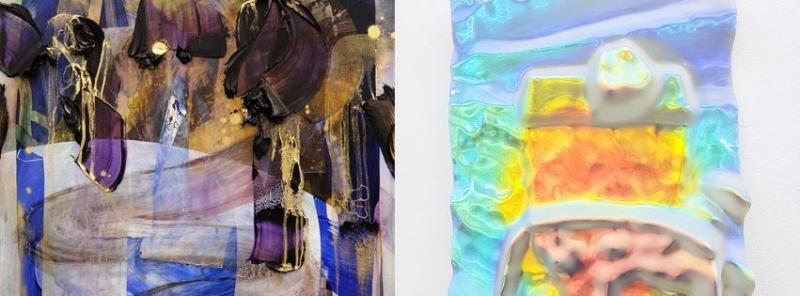 Left: Erin Loree, Cosmic Handheld, 2016 Right: Oliver Pauk, Object #76, 2016