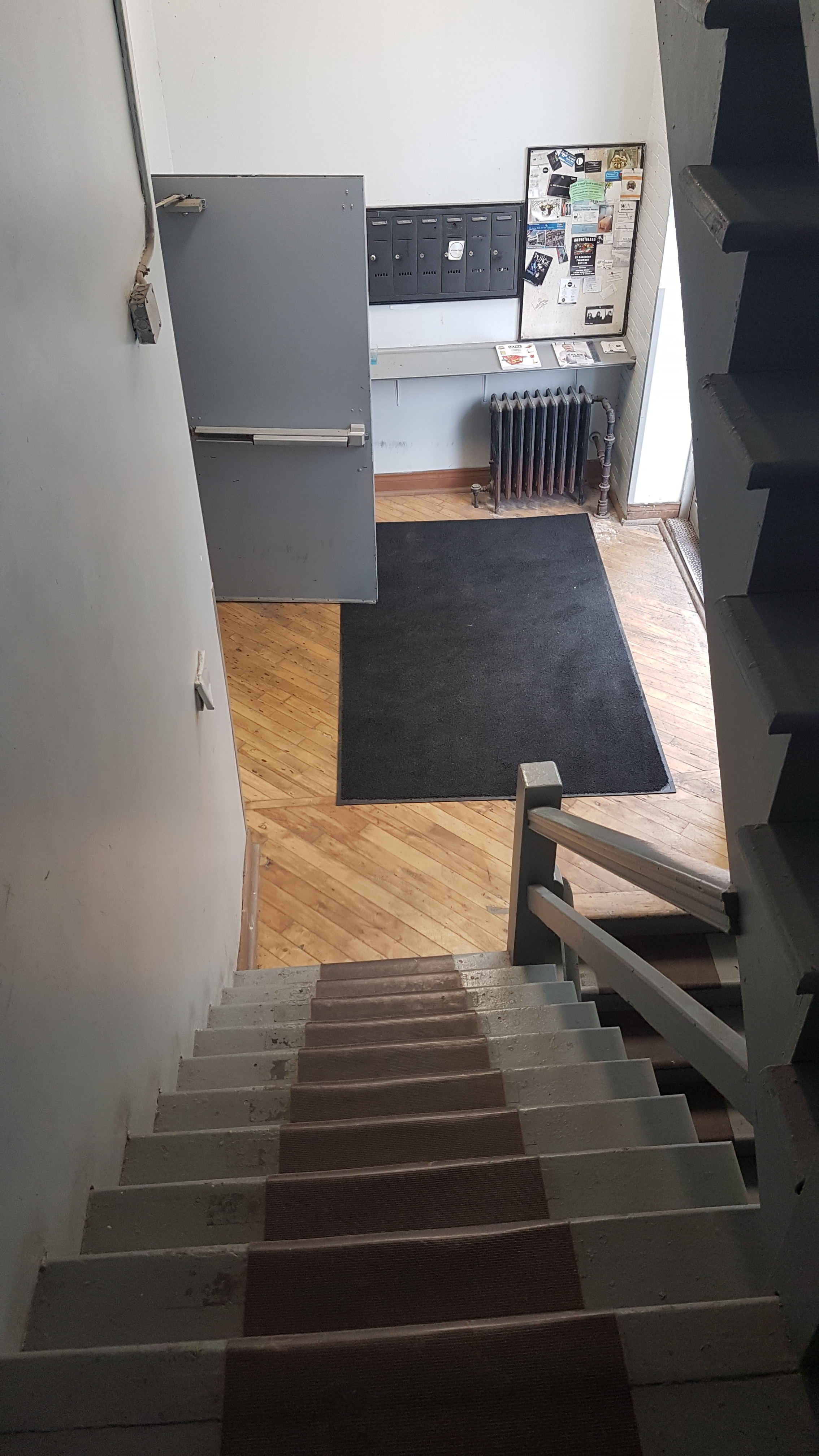 steps leading to second floor - view #2