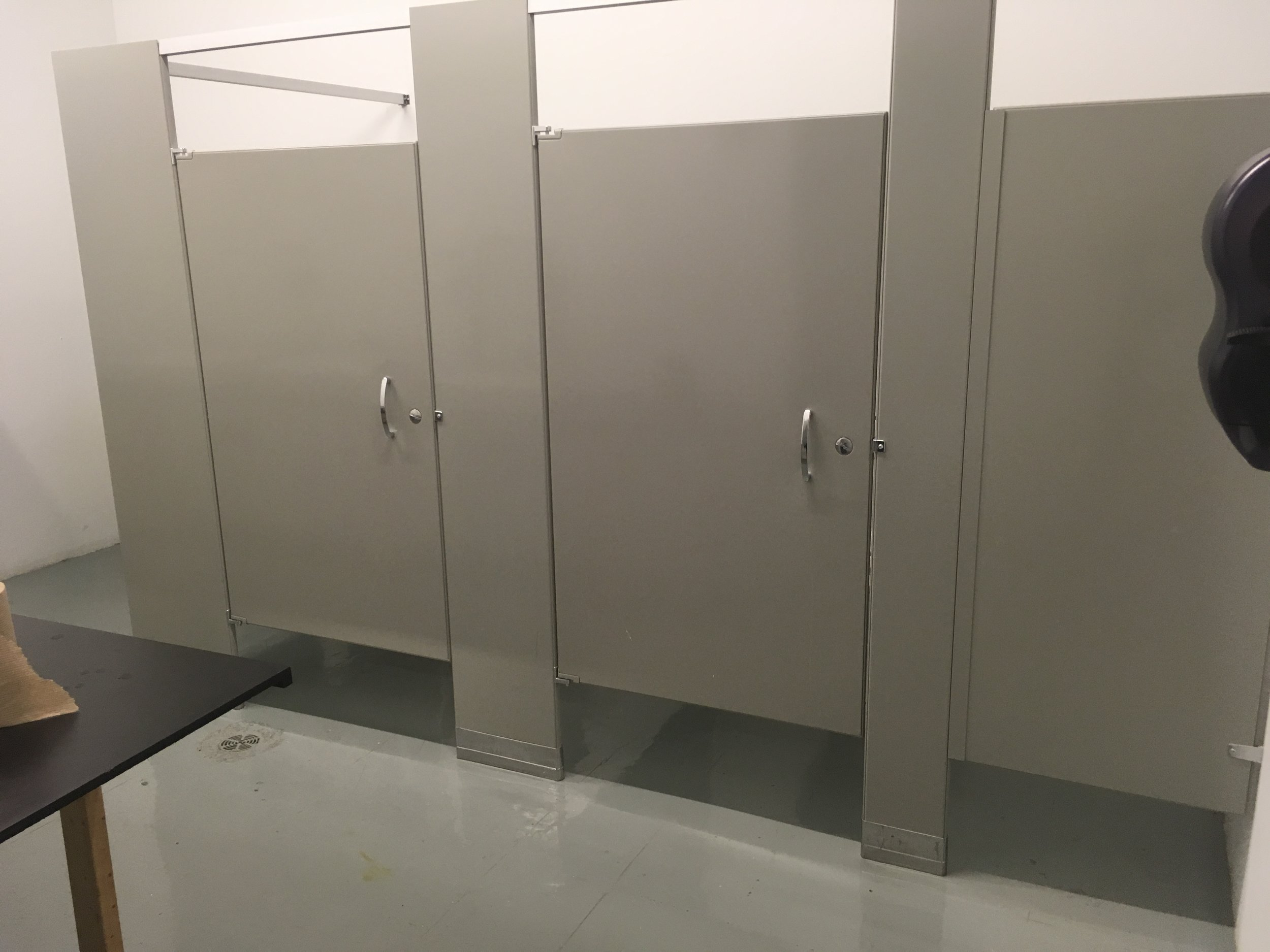 second floor men's washroom