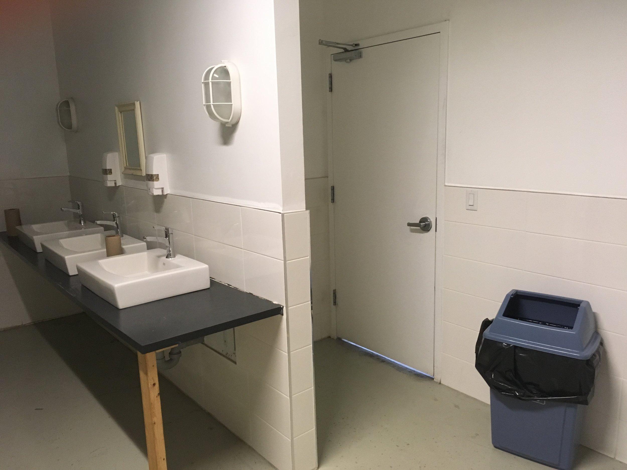 second floor women's washroom