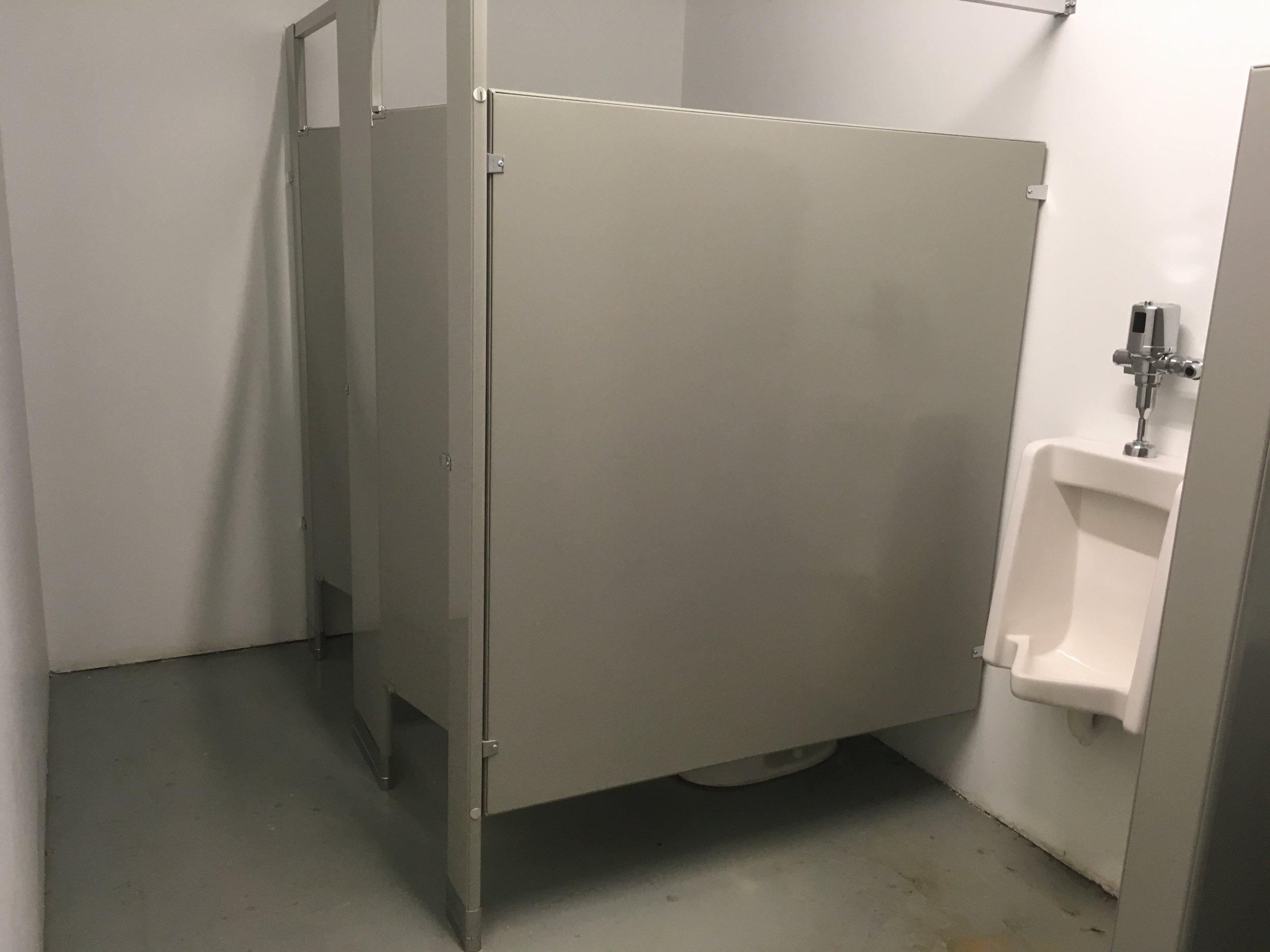 ground floor men's washroom